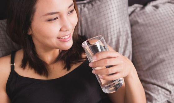 Acqua anche prima di dormire