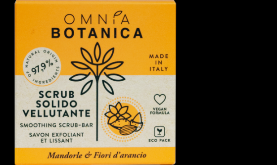 Scrub Solido Vellutante Omnia Botanica