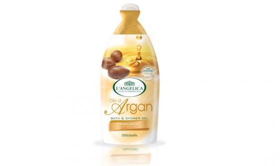 Bath and Shower Gel all'olio di Argan L'Angelica Officinalis