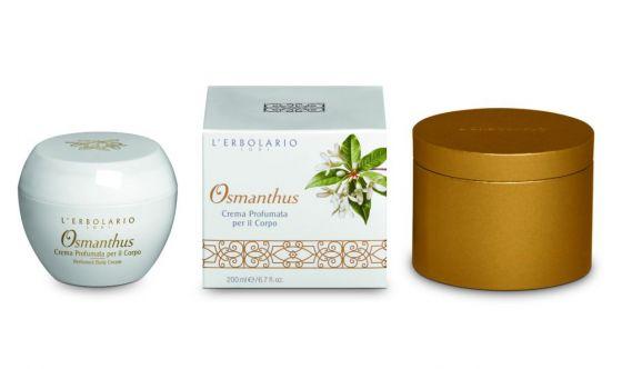 Osmanthus crema profumata per il corpo l erbolario prodotti per
