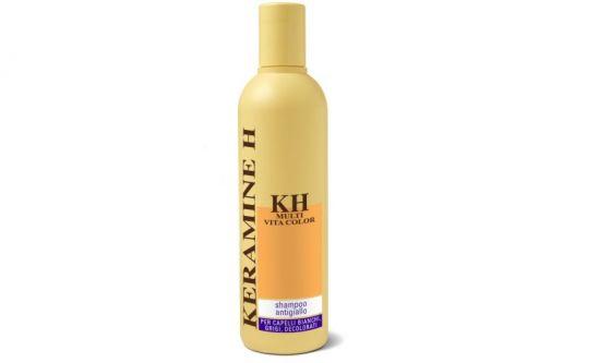 KH Multivita Color Shampoo Antigiallo Keramine H