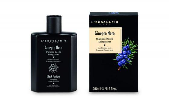 Ginepro Nero Shampoo Doccia Energizzante L'Erbolario