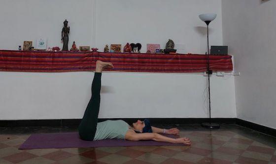 Il rilassamento delle gambe