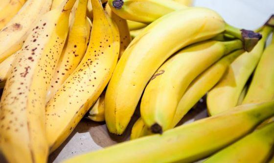 Le banane sono le più ricche di potassio