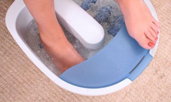 Rinfrescare piedi e gambe