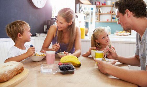 Alla colazione si dedicano soli 5 minuti