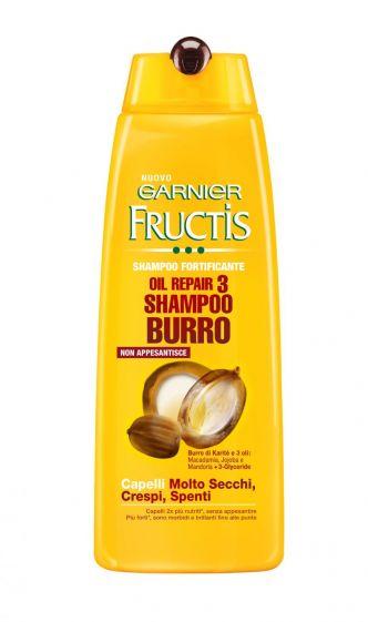 Oil Repair 3 Shampoo Burro Garnier Fructis