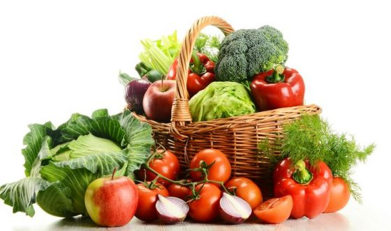 Frutta e verdura contro i radicali liberi