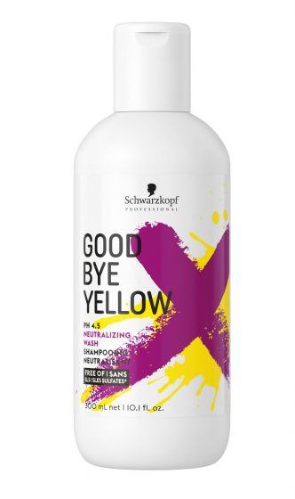 Goodbye Yellow shampoo Schwarzkopf Professional