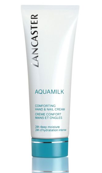 Aquamilk Comforting hand and nail cream Lancaster