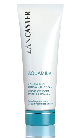 Aquamilk Comforting hand and nail cream Lancaster