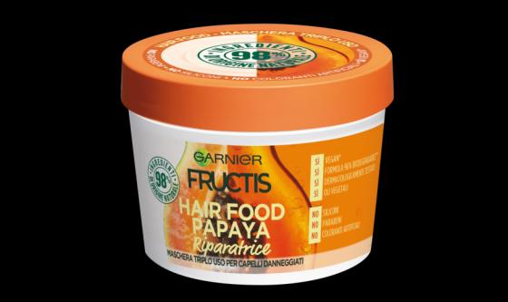Maschera multiuso riparatrice Hair Food Papaya Garnier