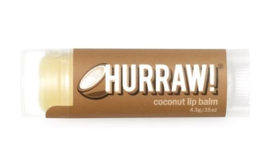 Coconut Lip Balm Hurraw!