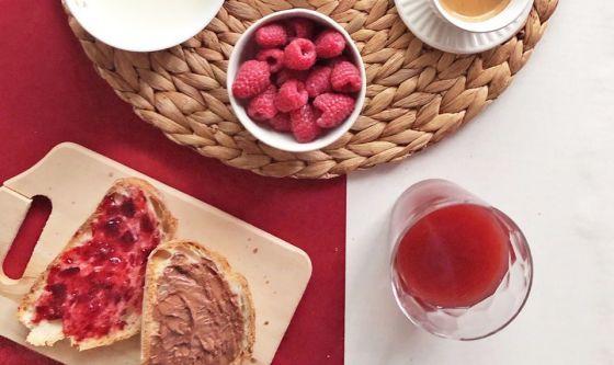 Colazione Rossa: ideale prima di un appuntamento di lavoro
