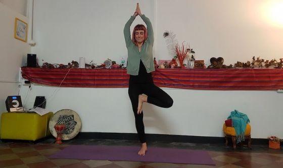 Yoga ad occhi chiusi