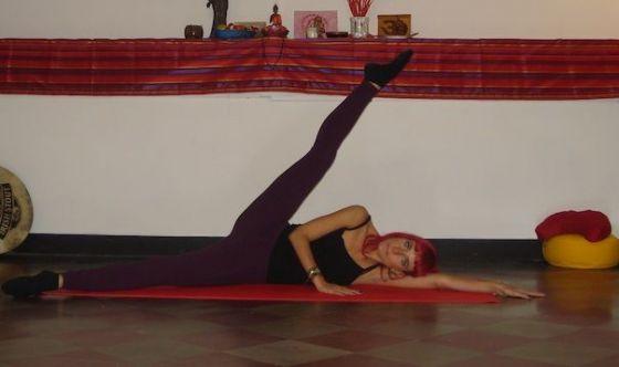 Usare le gambe per un corpo armonioso