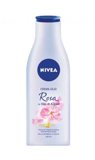 Crema-olio Rosa e olio di Argan Nivea