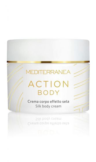 Action body Cream corpo Effetto seta Mediterranea