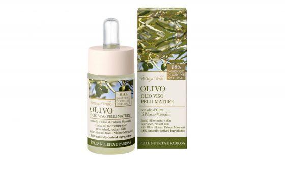 Olio viso Pelli mature Olivo Bottega Verde