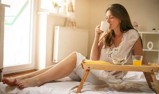 Colazione a letto solo nelle grandi occasioni