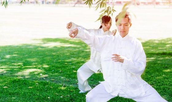 Un corso di Yoga o Tai Chi