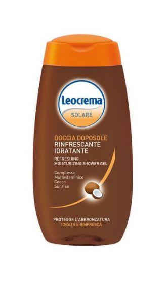 Doccia doposole rinfrescante idratante Leocrema