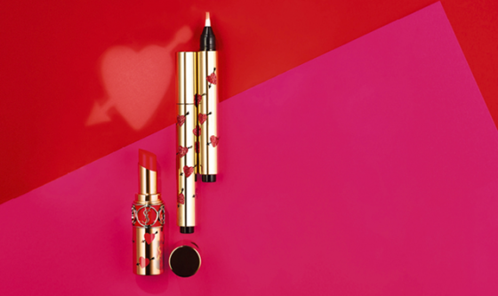 Hearts and Arrows Ysl beauty