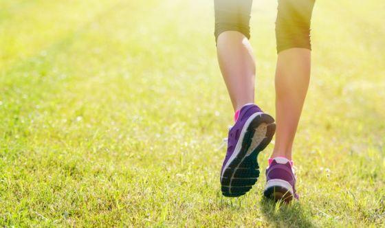 Camminare a lungo ogni giorno