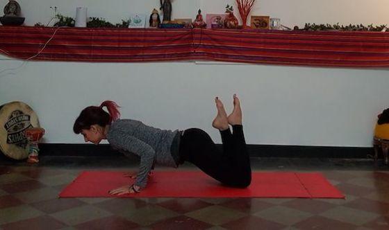 Tonificare le braccia col pilates