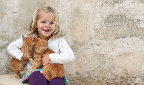 Protegge i bambini dalle allergie