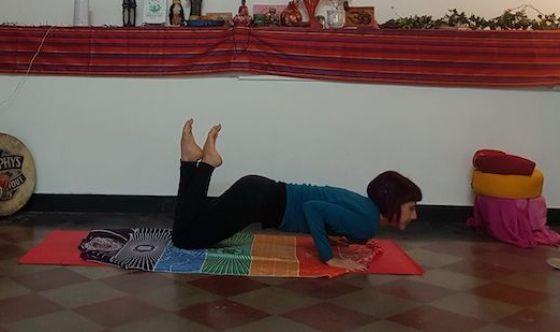 Le flessioni nel Pilates