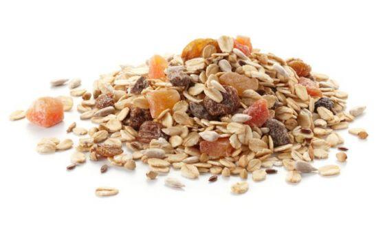 Muesli vs cereali per la colazione