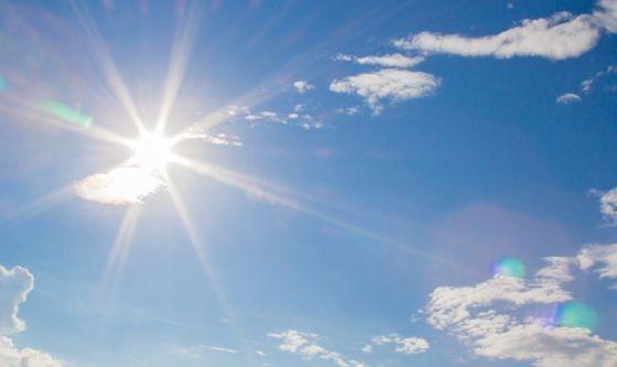Eruzione cutanea dopo l'esposizione al sole