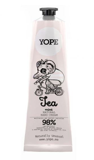 Crema mani Tea and mint Yope