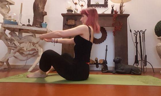 Iniziare con le gambe piegate