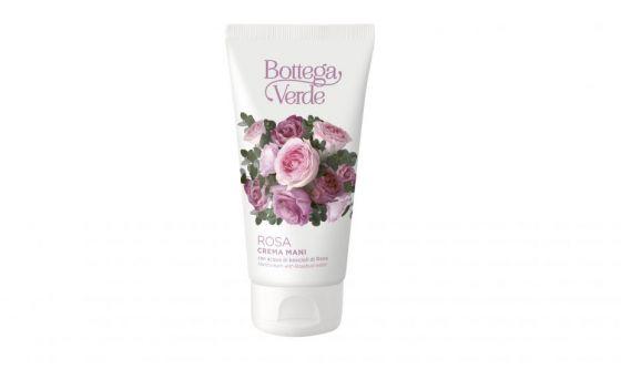 Crema mani con acqua di boccioli di rosa Bottega Verde