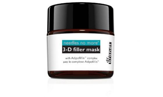 3-D filler mask needles no more dr. Brandt