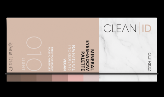 Clean ID Mineral Eyeshadow Palette Catrice