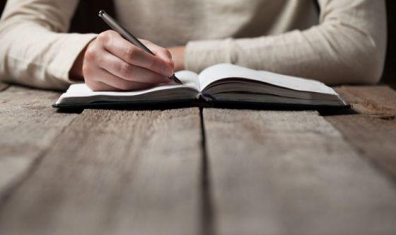 Mettere per iscritto i pensieri