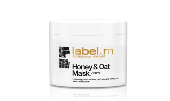 Honey e Oat Mask label.m