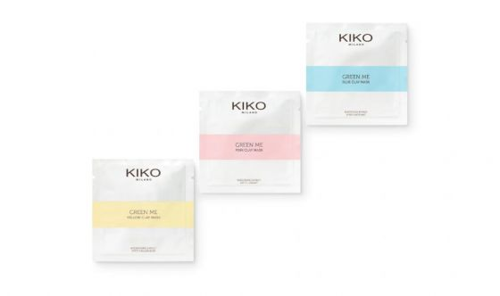Kiko On-the-go Masks Green Me Collection