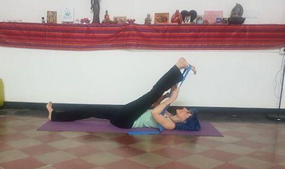 L'allungamento delle gambe avanzato
