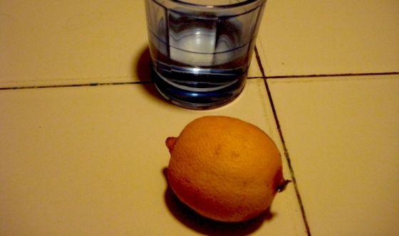 Il limone a digiuno