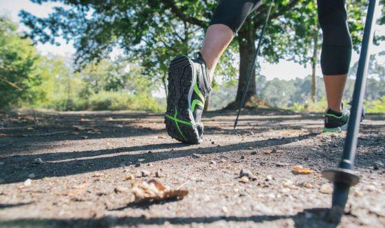 Il Nordic Walking tonifica il corpo