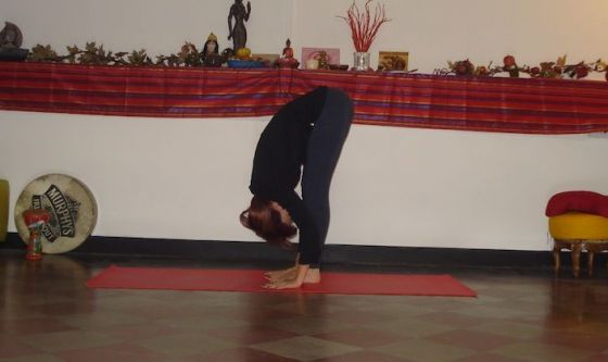 Scacciare l'influenza con lo Yoga