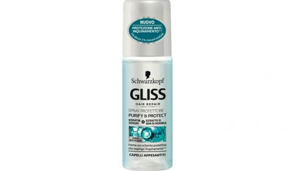 Gliss Purify and Protect Spray protettore Schwarzkopf