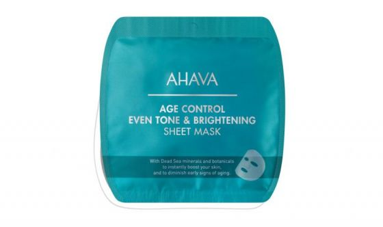 Age Control Even Tone and brightening sheet mask Ahava