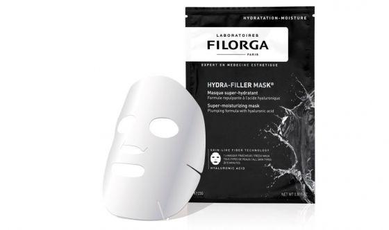 Hydra-filler Mask maschera bianca idratante Filorga