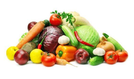Verdura a volontà, ma attenzione alla frutta