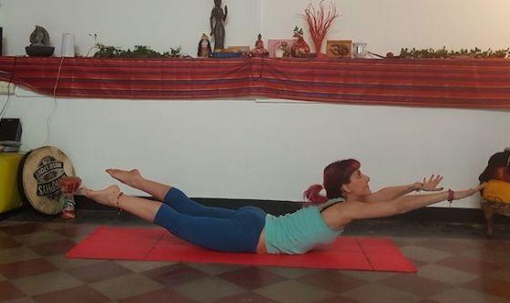 Il Pilates per rafforzare la parte posteriore